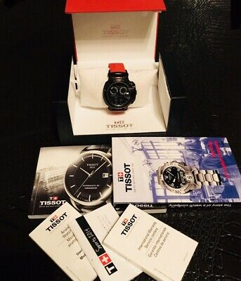 £259.95 • Buy TISSOT Model T-RACE PVD CHRONOGRAPH WATCH, BLACK / RED , Series T048417A T048