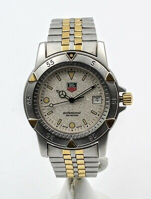 Tag Heuer Professional 200 Meter Mens Sports Wrist Watch Swiss No Reserve #7119 • 215.50$