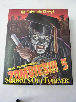 Zombies!!! 5 School´s Out Forever Expansion Board Game Twilight Creations TOP KR • 11.71£