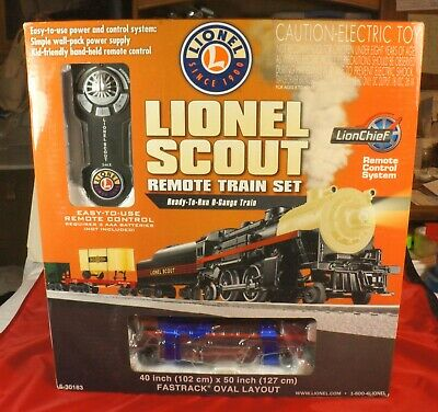 Lionel ScoutO Gauge Train Set 6-30183 Remote Control - New In Box - Tested OK. • 155$