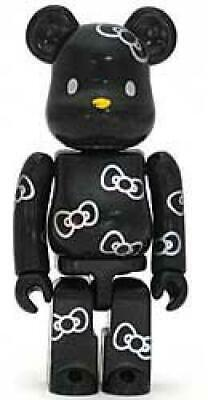$111.07 • Buy BE@RBRICK Bear Brick SERIES 9 SECRET Reverse CUTE HELLO KITTY (black)