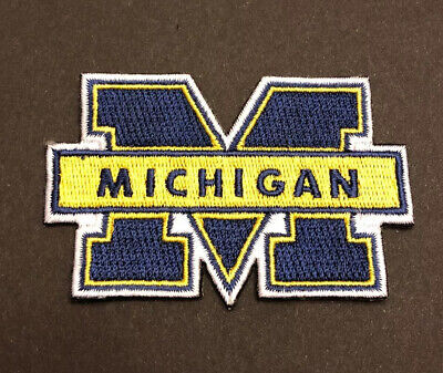 $5 • Buy University Of Michigan (NCAA) Iron On Embroidered Patch