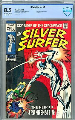 Silver Surfer #7 CBCS 8.5 (OW-W) Last Tales Of The Watcher Story. • 7.50$