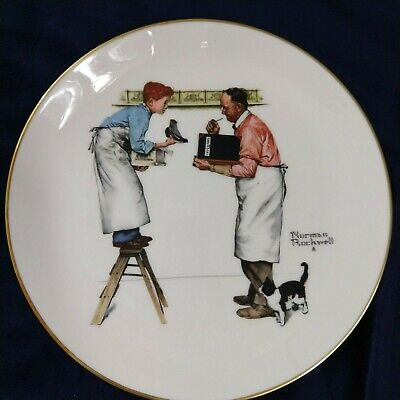 $ CDN31.47 • Buy Norman Rockwell Collector Plates Winter Year In Count Inventory 1979