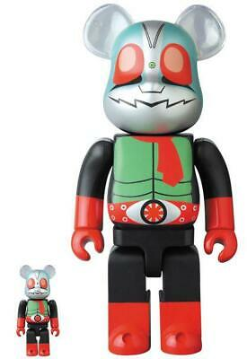 $200 • Buy Bearbrick Kamen Rider New 2 100% & 400% Bearbrick Medicom Toy