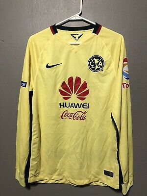 Nike Club America 2015-16 Home Long Sleeve Jersey • 60$