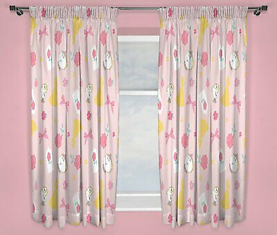 £19.95 • Buy Disney Princess Curtains Beauty And The Beast Belle 72  Drop Childrens