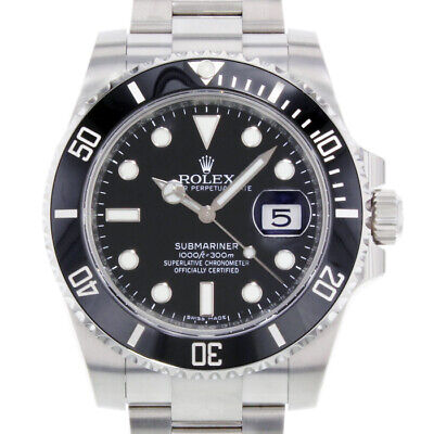 $ CDN14801.94 • Buy Rolex Submariner 116610 Men's Stainless Steel Automatic Black 1 Year Warranty