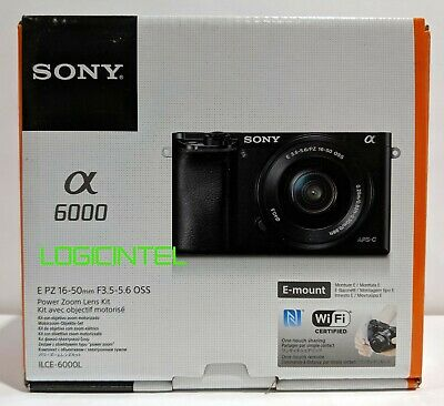 $ CDN608.15 • Buy Sony Alpha A6000 Mirrorless Digital Camera  White With 16-50mm Lens ILCE-6000L/W