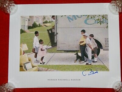 $ CDN266.61 • Buy NEW KIDS IN THE NEIGHBOURHOOD NORMAN ROCKWELL SIGNED MODEL PRINT Poster Children