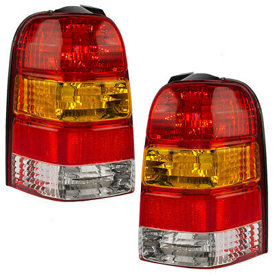 $82.25 • Buy Pair Set Taillights Taillamp Housing For 01-07 Ford Escape 05-07 Escape Hybrid