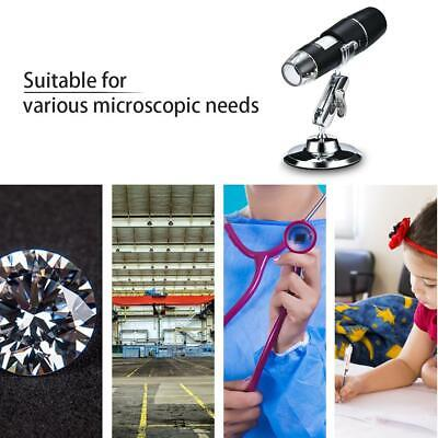 1000X Wifi Digital Microscope Magnifier Camera 8LED W/Stand For Android IOS • 16.16£