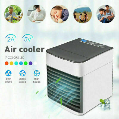 AU26.97 • Buy Mini Fan Arctic Air Ultra Compact Portable Cooler USB Conditioner Cool Fan New