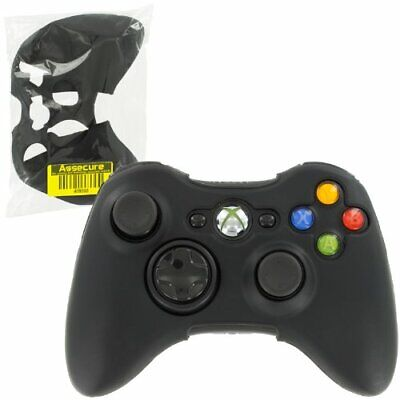 £5.08 • Buy Silicone Skin For Xbox 360 Controller Cover Protective Grip - Black | ZedLabz