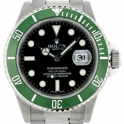 $ CDN32270.31 • Buy Rolex Submariner 16610 Men's Stainless Steel Automatic Black 1 Year Warranty