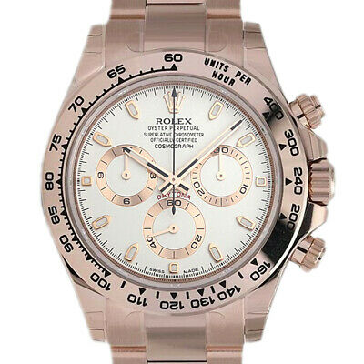 $ CDN51178.48 • Buy Rolex Daytona 116505 Men's Rose Gold Automatic Cream 1 Year Warranty