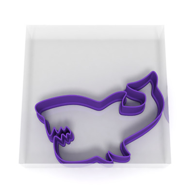 10CM Shark Cookie Cutter Biscuit Dough Icing Shape Biscuit Cake Fish Sea Animal • 4.29£