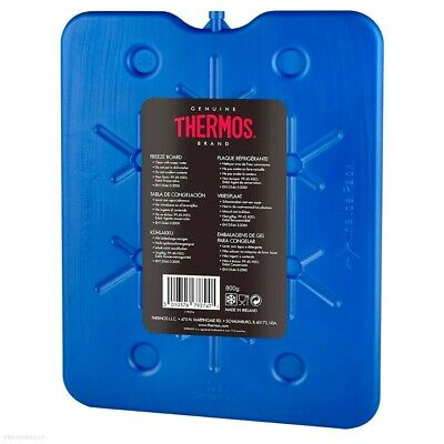 Thermos Large Freeze Board 800g Flat Block Ice Pack For Cool Bag Cooler • 7.49£