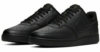 Nike Mens Court Vision Low ( Air Force Look A Like ) Fashion Trainer All Black  • 59.99£
