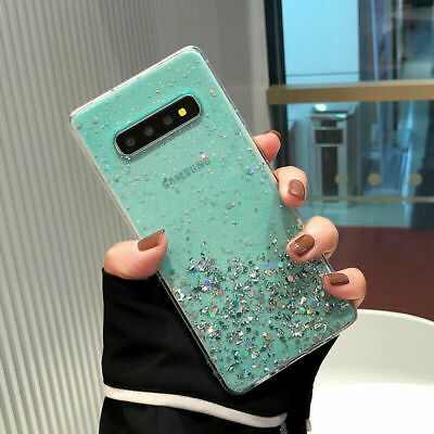 $ CDN6.39 • Buy Bling Star Women Case TPU Back Cover For Samsung Galaxy S8 9 10 Note 8 9 10 Plus