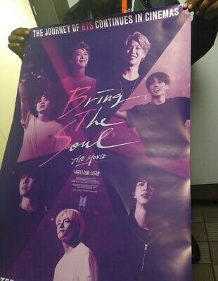 $22 • Buy BTS Official Bring The Soul Movie Poster
