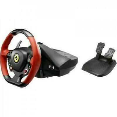 $119 • Buy Xbox One Steering Wheel Controller Driving Pedals Racing Video Game 458 Ferrari