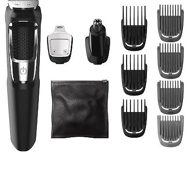 AU69.50 • Buy Philips Norelco Multigroom All-In-One Shaver 3000, 13 Attachment Trimmer, MG3750