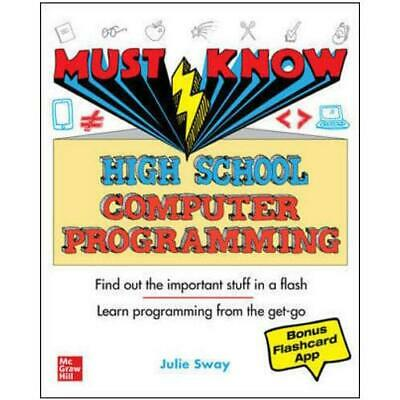 Must Know High School Computer Programming By Julie Sway (author) • 9.23£