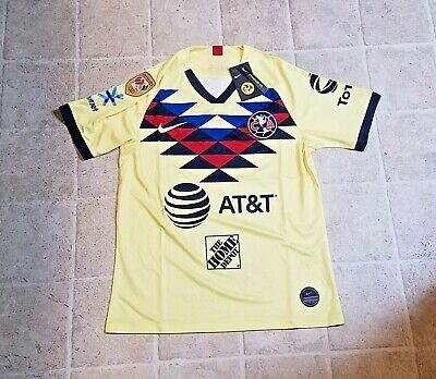 $35 • Buy Club America Home Jersey 19 / 20 W/ Ligamx A18 Champion Patch Mens Size S - 2xl