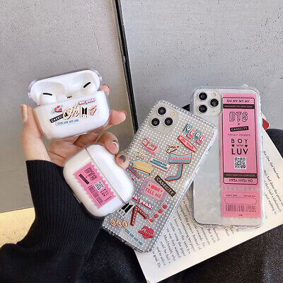 $ CDN4.59 • Buy BTS CASETiFY TPU AirPods Pro Box Phone Case Cover For IPhone 7 8 11 Pro X XR MAX