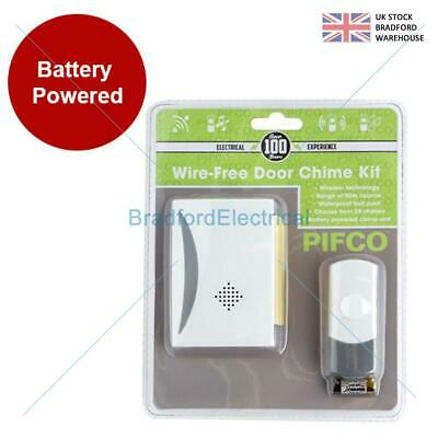 Wireless Door Bell Plug In Waterproof Cordless Door Chime Kit UK • 8.99£