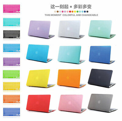£12.99 • Buy Rubberized Hard Case Keyboard Cover For MacBook Air Pro 11 13  15  16  2010-2019
