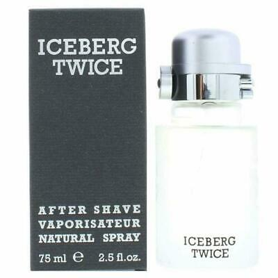 Iceberg Twice For Men 75ml After Shave Spray Brand New & Sealed • 11.31£
