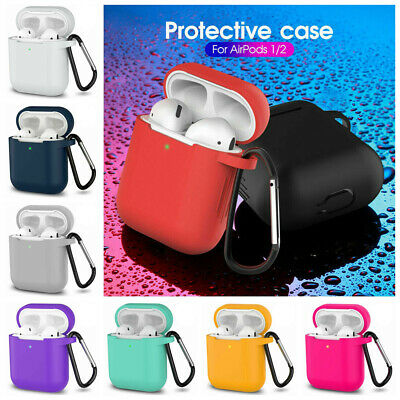 $ CDN1.49 • Buy For Apple AirPods Case Protect Silicone Cover Skin AirPod Earphone Charger Cases