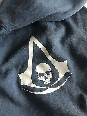 Assassins Creed Black Flag Insert Coin Rare Promotional Hoodie XL • 30£