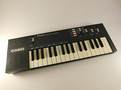 $27.99 • Buy Vintage 1980's CASIO PT-100 Electronic Synthesizer Keyboard TESTED WORKING