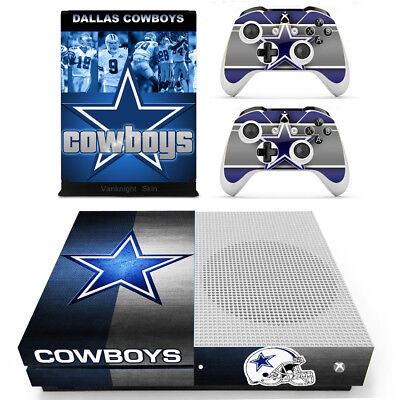 $11.80 • Buy Xbox One Slim S NFL Dallas Cowboys Vinyl Skin Decal Sticker Console Controllers