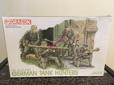 Dragon  6034 1/35 German Tank Hunters (4 Figures) '39-'45 Series • 17.92£