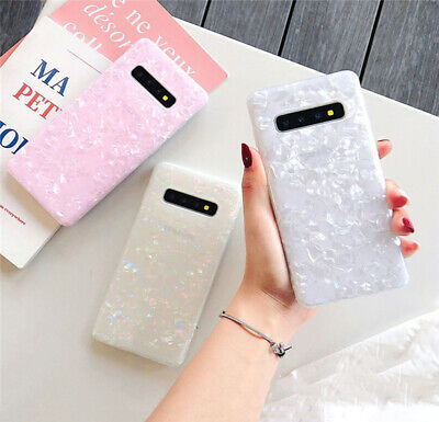 $ CDN3.71 • Buy For Samsung Galaxy S20 S10E S9 S8 Plus S7 Marble Silicone TPU Glossy Case Cover