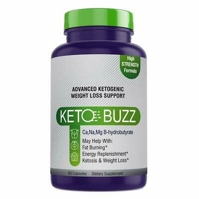 $29.25 • Buy KETO BUZZ Diet Pill Ultilize Fat As Fuel Boost Energy And Metabolism 60 Capsules