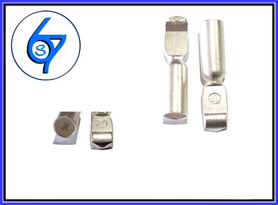 AU10.95 • Buy 2 Anderson Plug Contacts Pins Lugs Terminals For 175 Amp Connectors 1/0AWG