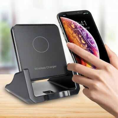 $ CDN11.96 • Buy For Samsung Galaxy Note 10 Plus 10W Qi Wireless Charger Fast Charging Dock Stand
