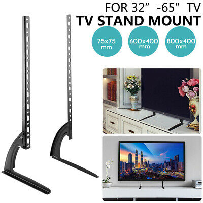 AU19.20 • Buy Universal Table Top TV Stand Leg Mount LED LCD Flat TV Screen 14-70  For Sony LG