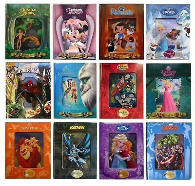 New 3D, Disney Fairy Tales Magical Story Books Lenticular Bed Time Stories Gift • 4.99£