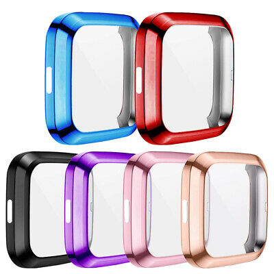 $ CDN8.03 • Buy For Fitbit Versa 2 Watch Slim Case Full Screen Protector Protect Bumper Cover