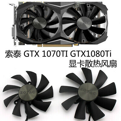 $ CDN34.34 • Buy New Original For ZOTAC GeForce GTX 1070 Ti Mini 8GB Graphics Card Fan DC12V 4Pin