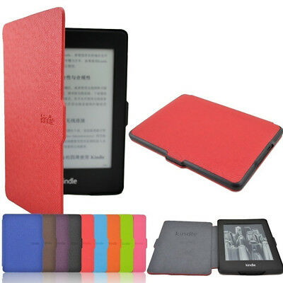Leather Case Smart Magnetic Slim Cover For Amazon 1/2/3 Cover Kindle Paperwhite/ • 4.99£