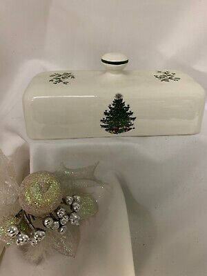 $64.50 • Buy Cuthbertson Original Christmas Tree Butter Dish Cover ONLY