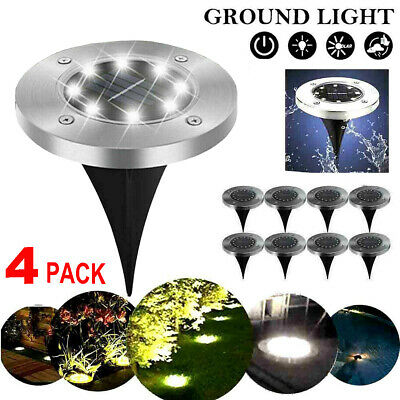 Solar Powered LED Spot Lights Ground Garden Lights Outdoor Waterproof Yard Lamps • 7.55£