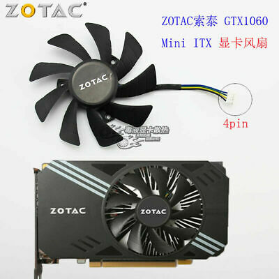 AU18.92 • Buy Zotac GTX1060 Mini ITX Graphics Fan T129215SH